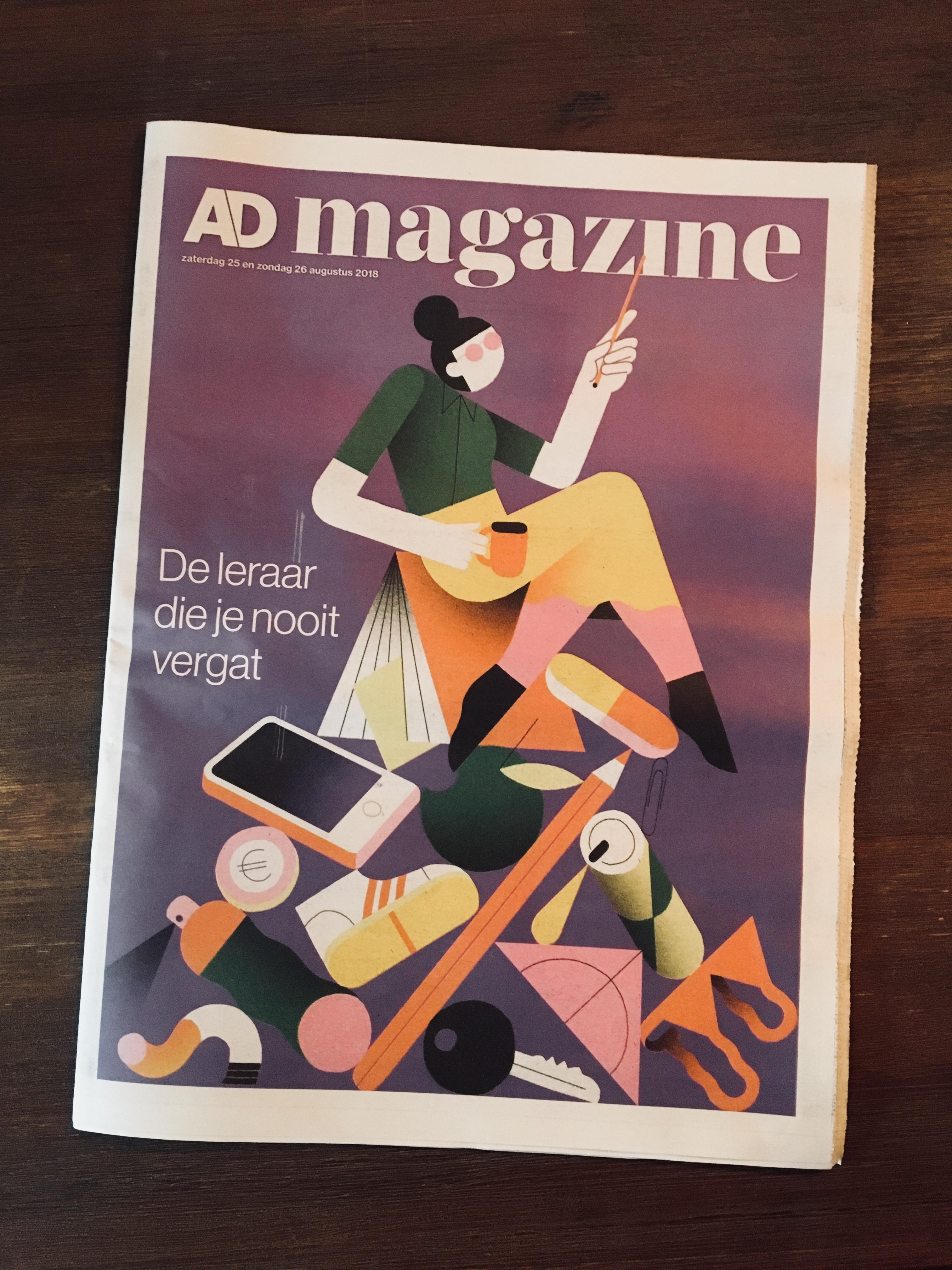AD Magazine De leraar Die Je Nooit Vergeet